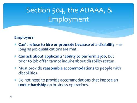 Section 504 Requirements by Ppt Section 504 And The Americans With Disabilities Act