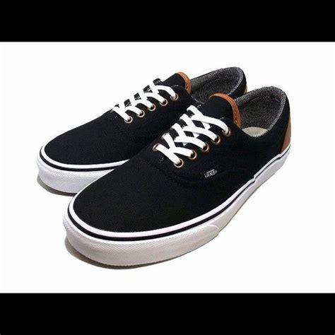 vans tread pattern vans era c l black tweed shoes waffle tread pattern