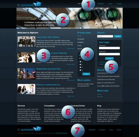 drupal themes symphony alphorn our first free drupal theme drupal blog