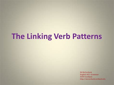 linking verb pattern exle 13 best images about english grammar lectures on pinterest