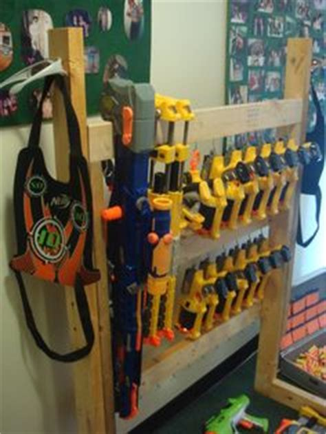 How To Build A Nerf Gun Rack by 1000 Images About Nerf Guns On Nerf Gun Nerf