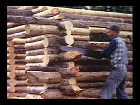 Log Cabin Documentary by Alone In The Wilderness Gentlemint