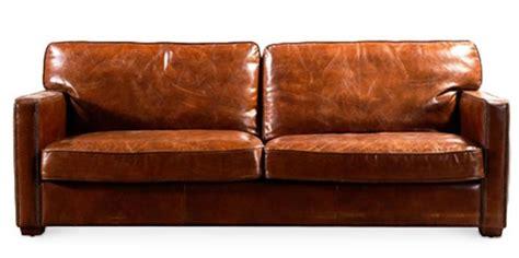 canape cuir marron canap 233 3 places cuir marron vintu lestendances fr