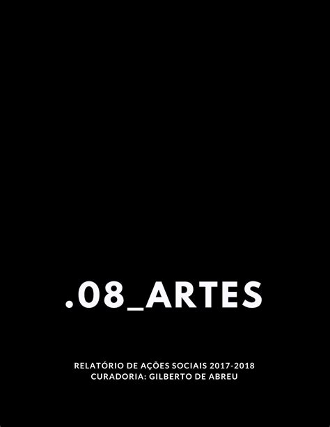Babel.08_Artes Ações Sociais by Gilberto de Abreu - Issuu