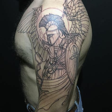 half sleeve angel tattoos trendy and creative half sleeve designs to never