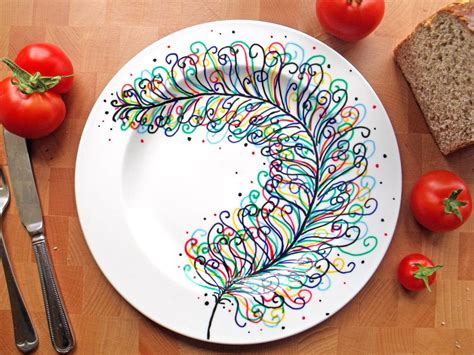 fliesen zum bemalen keramik bemalen 40 diy ideen paint your style