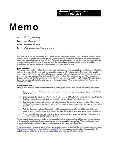 standard memo templates sle standard memo template for school or office vatansun