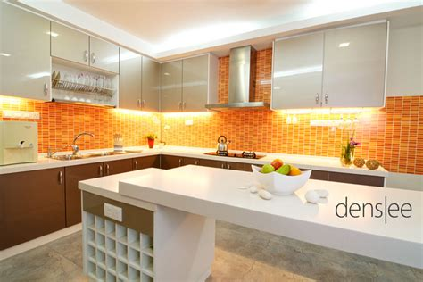 orange and yellow kitchen light orange kitchen design home design ideas within