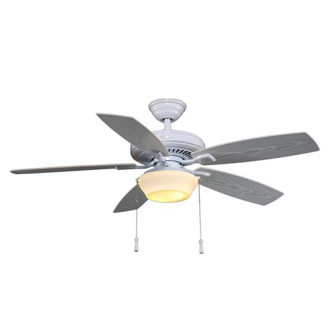 lightweight gazebo ceiling fan hton bay gazebo 52 in led indoor outdoor white ceiling