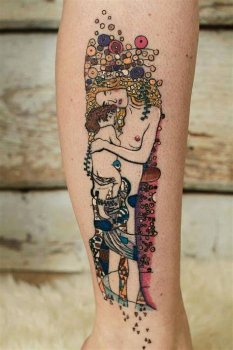 painting tattoos 10 gustav klimt tattoos to show your artistic side