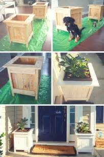 diy wood projects ana white diy planter boxes with pallet wood diy projects