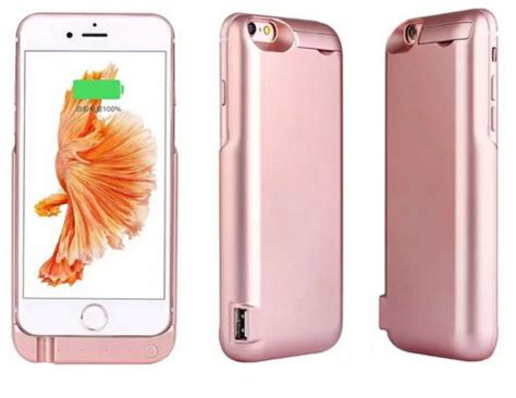 Casing Iphone 6 6s casing charging 7000mah for iphone 6 6s indotechno