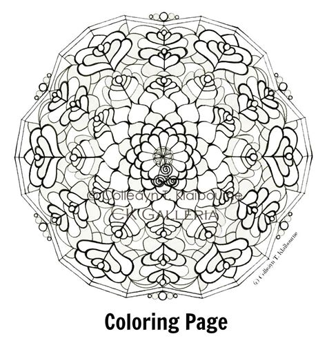 mandala coloring pages pdf free coloring pages of square mandala printable