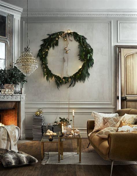 decoration de noel pour la maison no 235 l on d 233 la maison avec une couronne nos