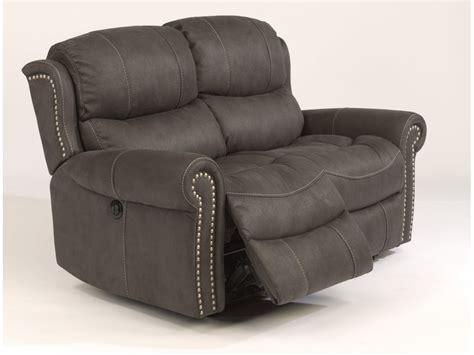 60 Inch Reclining Loveseat Flexsteel Living Room Fabric Reclining Loveseat 1396 60