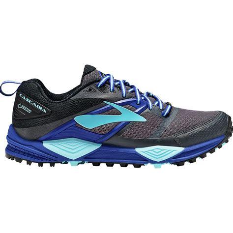 trail running shoes cascadia cascadia 12 gtx trail running shoe womens