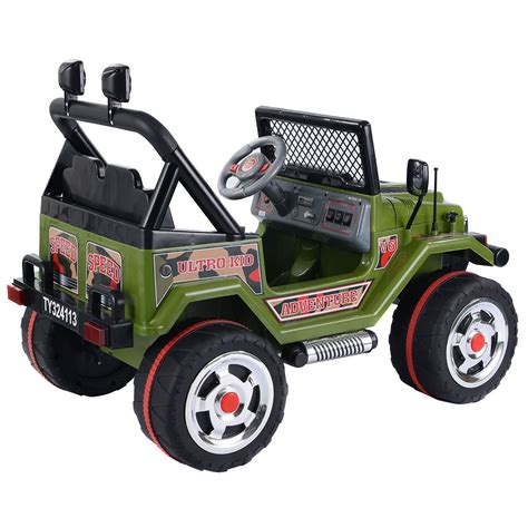 kids jeep wrangler convenience boutique kids baby ride on car 12v mp3 jeep