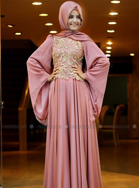 Baju Muslim Simply Byna Dress tips memilih model baju pesta muslim info tren baju
