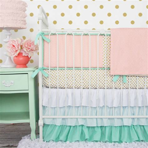 the best colors in crib bedding for caden