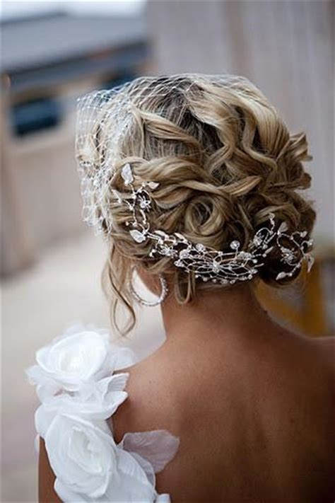Wedding Hairstyles With Rhinestones by Stunning Bridal Updo Hairstyle With Rhinestone Headpieces