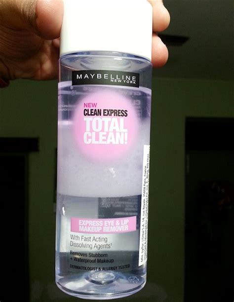 Maybelline Lip Eye Makeup Remover maybelline clean express total clean eye and lip makeup remover review and demo