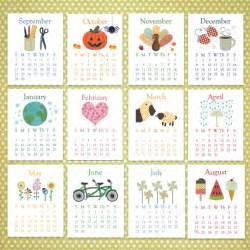 2014 desk calendar template unavailable listing on etsy