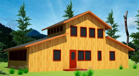 Barn Style House by Barn Style House Straw Bale House Plans