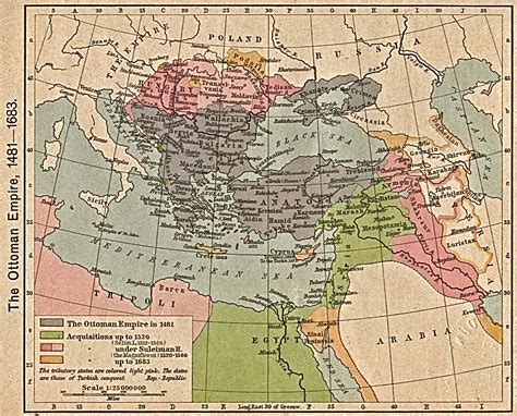Map Of Ottoman Empire The Ottoman Empire In The Seventeenth Century