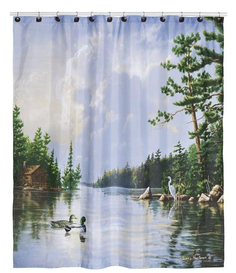 Wildlife Shower Curtains Wildlife Shower Curtains Everything Log Homes