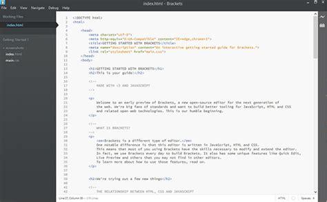 themes brackets editor deeper in the brackets editor