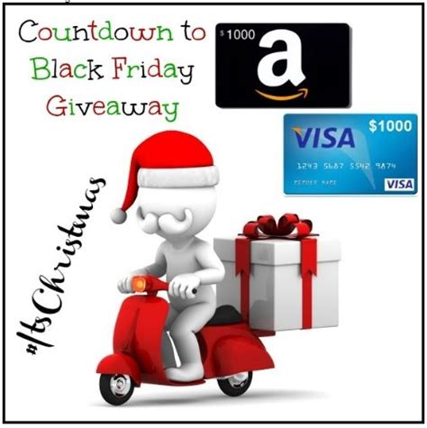 Best Buy Black Friday Gift Card Giveaway - enter to win 1 000 visa gift card or amazon gift card winner s choice