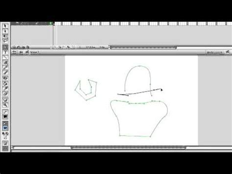 5 Drawing Tools In Adobe Flash by Adobe Flash Cs3 Professional Using The Vector Drawing