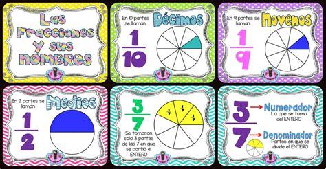 Imagenes Matematicas De Fracciones | memorama de fracciones y sus nombres imagenes educativas