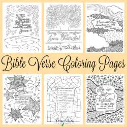 6 bible verse coloring pages true aim