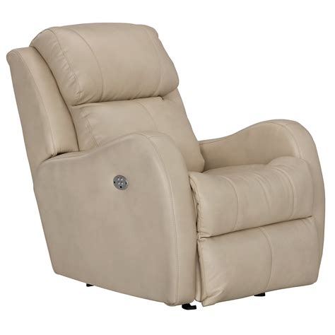 beige recliner city furniture finn lt beige microfiber power rocker recliner