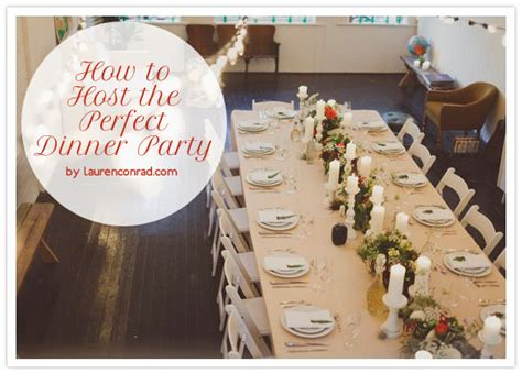 Hosting A Dinner Party | party planning how to host the perfect dinner party