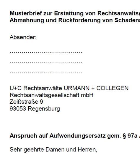 Verbraucherzentrale Sachsen Bearbeitungsgebühren Zurückfordern Musterbrief Zahlungsr 252 Ckforderung Musterbrief Pdf Chip