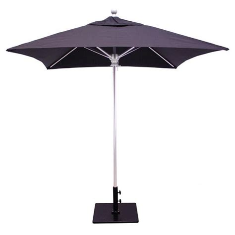 patio umbrella galtech 6x6 square commercial patio umbrella