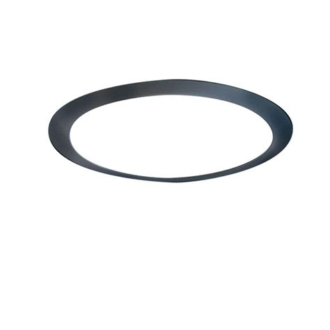 Ceiling Light Trim Rings Halo 6 In Tuscan Bronze Recessed Ceiling Light Designer Trim Ring Trm6tbz The Home Depot
