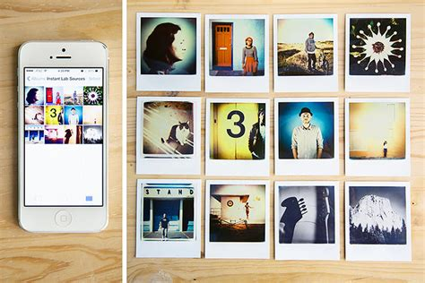 instant picture impossible co iphone polaroid prints