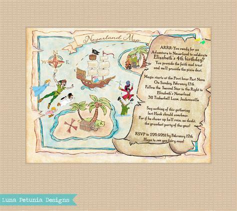 nl treasure map invitation