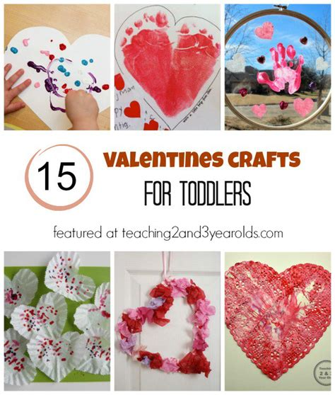 valentines ideas for toddlers 15 of the best toddler crafts