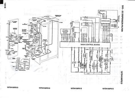 hotpoint refrigerator wiring diagram refrigerator