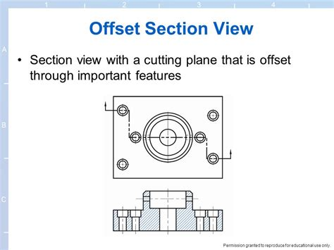 offset section 6 section views 6 section views explain the
