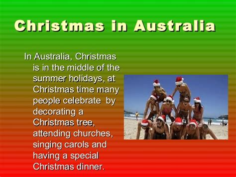best 28 why does australia celebrate christmas tis