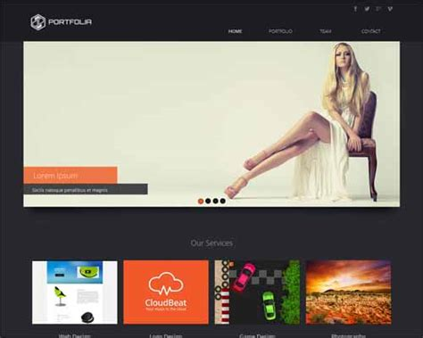 Free Responsive Muse Templates free and premium responsive adobe muse templates
