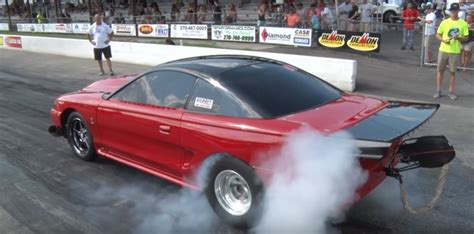 small block ford small block ford mustang smokes the competition the