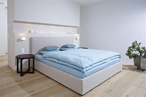 kundenreferenz architektenhaus mit exklusiver - Wandleuchte Bett