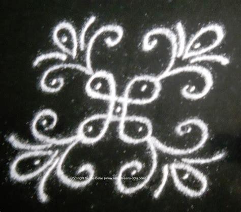 small designs small rangoli with dots kolam by sudha balaji