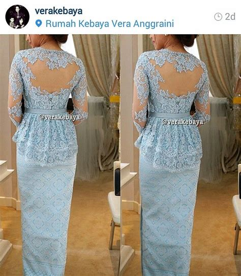 1707069 Biru Tua Gaun Pengantin Wedding Gown Wedding Dress 22 best images about kebaya on kebaya lace bridesmaid ideas and instagram